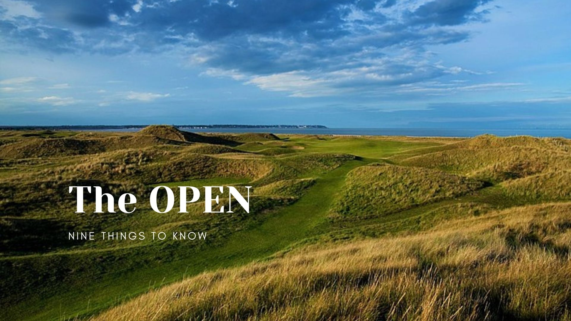 The Open Championship returns to Royal St. George's